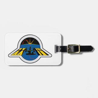 ISS Crews:  Expedition 24 Luggage Tag