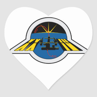 ISS Crews:  Expedition 24 Heart Sticker