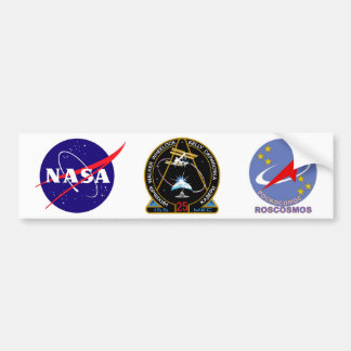 ISS Crews:  Expedition 25 Bumper Sticker