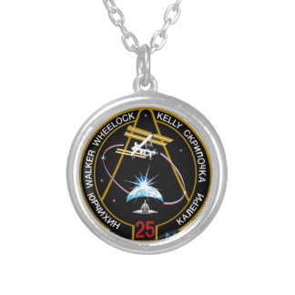 ISS Crews:  Expedition 25 Custom Necklace