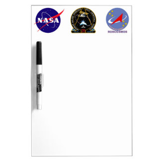 ISS Crews:  Expedition 25 Dry Erase Board