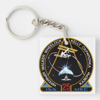 ISS Crews:  Expedition 25 Keychain