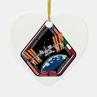 ISS Crews:  Expedition 26 Ceramic Ornament