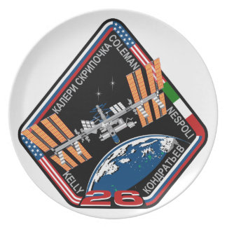 ISS Crews:  Expedition 26 Dinner Plate