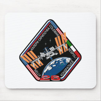 ISS Crews:  Expedition 26 Mouse Pad