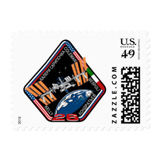 ISS Crews:  Expedition 26 Postage Stamp