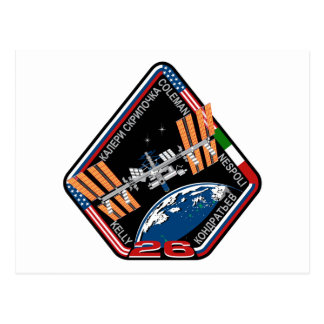 ISS Crews:  Expedition 26 Postcard