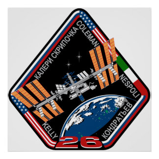 ISS Crews:  Expedition 26 Poster