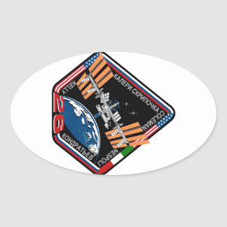 ISS Crews:  Expedition 26 Oval Sticker