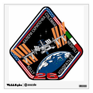 ISS Crews:  Expedition 26 Wall Decal