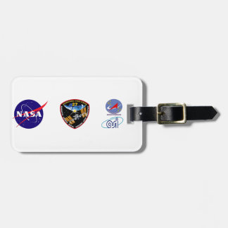 ISS Crews:  Expedition 27 Bag Tag