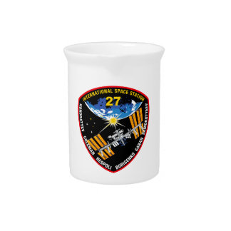 ISS Crews:  Expedition 27 Beverage Pitcher
