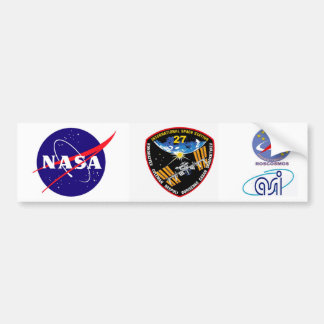ISS Crews:  Expedition 27 Bumper Sticker