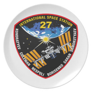 ISS Crews:  Expedition 27 Dinner Plate