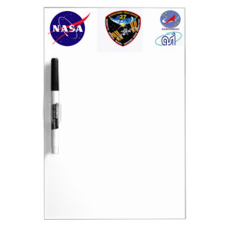 ISS Crews:  Expedition 27 Dry-Erase Board