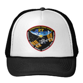ISS Crews:  Expedition 27 Trucker Hat