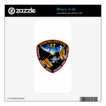 ISS Crews:  Expedition 27 iPhone 4 Decal