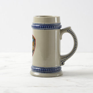 ISS Crews:  Expedition 27 18 Oz Beer Stein