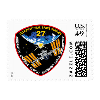 ISS Crews:  Expedition 27 Postage Stamp