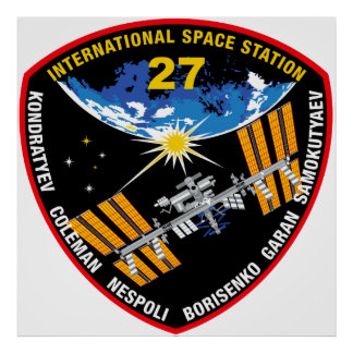 ISS Crews:  Expedition 27 Poster