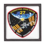 ISS Crews:  Expedition 27 Premium Jewelry Box