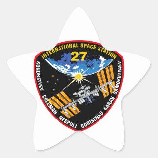 ISS Crews Expedition 27 Sticker