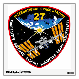 ISS Crews:  Expedition 27 Wall Decal