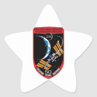 ISS Crews Expedition 28 Stickers