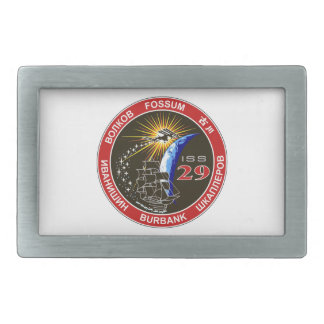 ISS Crews:  Expedition 29 Belt Buckle