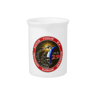 ISS Crews:  Expedition 29 Beverage Pitcher