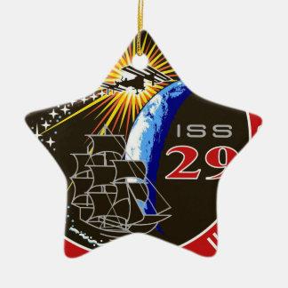 ISS Crews:  Expedition 29 Ceramic Ornament
