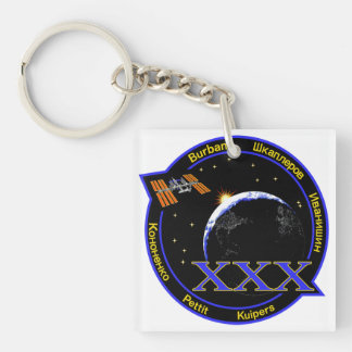 ISS Crews:  Expedition 30 Keychain