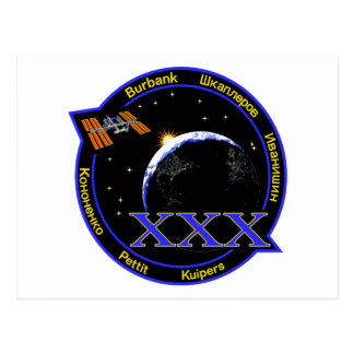 ISS Crews:  Expedition 30 Postcard