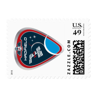 ISS Crews:  Expedition 34 Postage