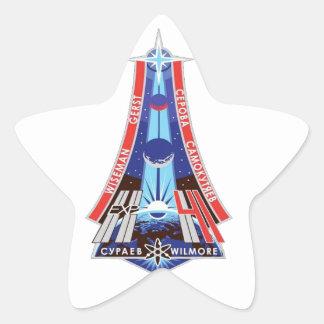 ISS Crews Expedition 41 Star Sticker