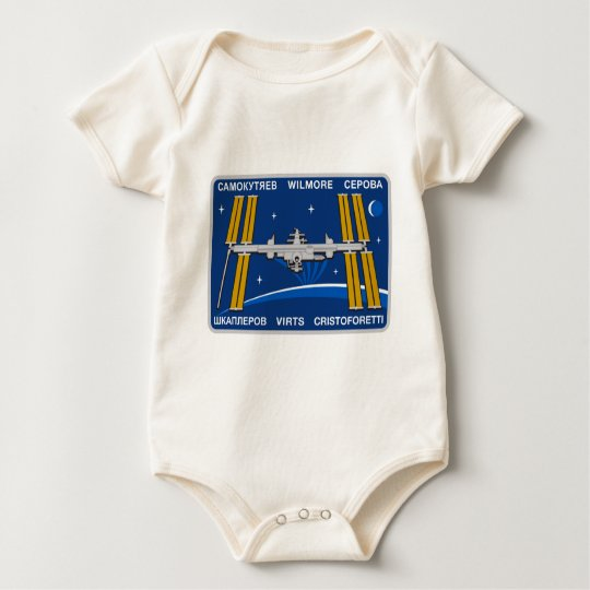 ISS Crews:  Expedition 42 Baby Bodysuit