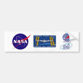 ISS Crews:  Expedition 42 Bumper Sticker