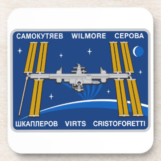 ISS Crews:  Expedition 42 Drink Coasters