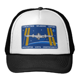 ISS Crews Expedition 42 Mesh Hat