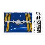 ISS Crews:  Expedition 42 Postage Stamps