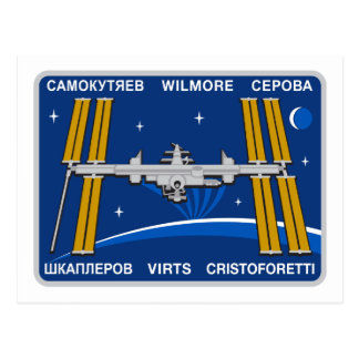 ISS Crews:  Expedition 42 Postcard