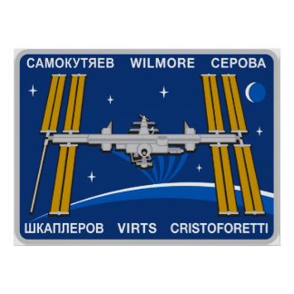 ISS Crews:  Expedition 42 Poster