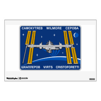 ISS Crews:  Expedition 42 Wall Sticker