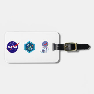 ISS Crews:  Expedition 43 Bag Tag