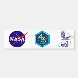 ISS Crews:  Expedition 43 Bumper Sticker