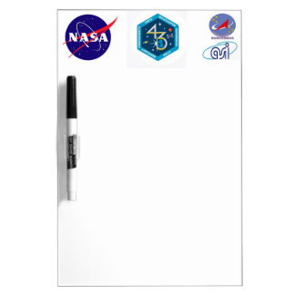 ISS Crews:  Expedition 43 Dry Erase Board