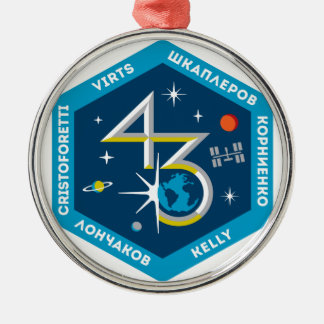 ISS Crews:  Expedition 43 Ornament