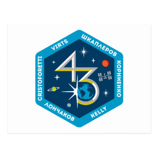 ISS Crews:  Expedition 43 Postcard