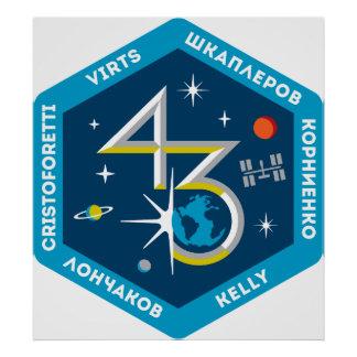 ISS Crews:  Expedition 43 Poster