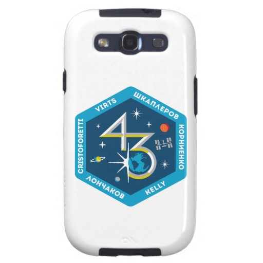 ISS Crews:  Expedition 43 Samsung Galaxy S3 Covers